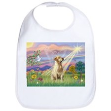 Cloud Angel & Yellow Lab Bib