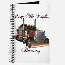 Keep The Lights Burning Journal