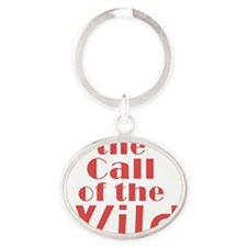 Call of the Wild Oval Keychain