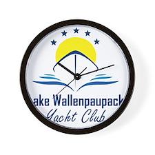 Lake Wallenpaupack Yacht Club Logo Wall Clock