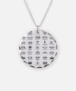 UFO Chart Necklace