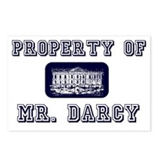 Mr. Darcy Postcards (Package of 8)