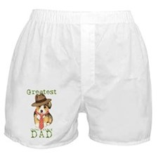 welsh corgi dad Boxer Shorts