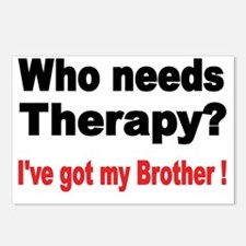 Who needs Therapy Postcards (Package of 8)