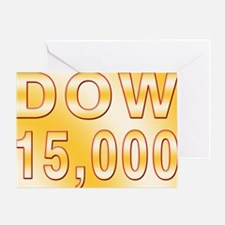 DOW 15000 Greeting Card