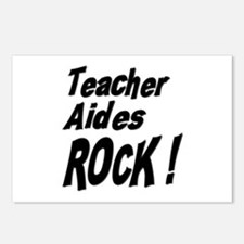 Teacher Aides Rock ! Postcards (Package of 8)
