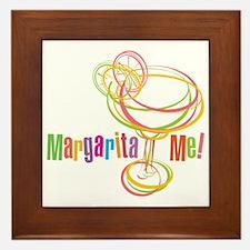 Margarita Me! Framed Tile