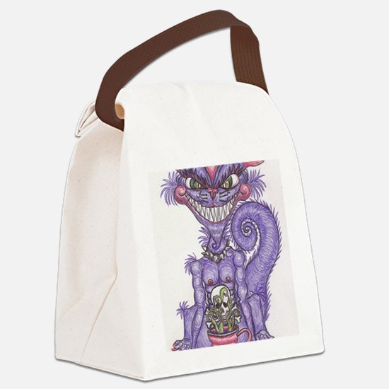 CheshireGremlin Canvas Lunch Bag