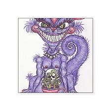 "CheshireGremlin Square Sticker 3"" x 3"""