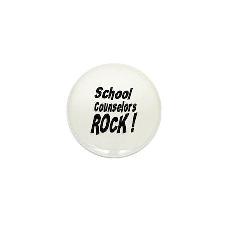 School Counselors Rock ! Mini Button (100 pack)