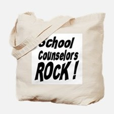 School Counselors Rock ! Tote Bag