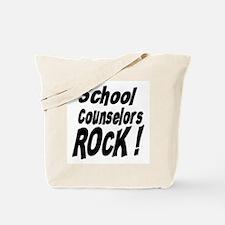School Counselors Rock ! Tote Bag
