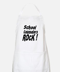 School Counselors Rock ! BBQ Apron