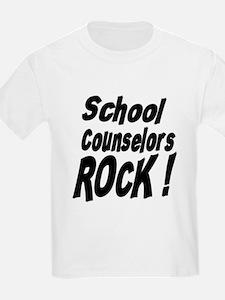 School Counselors Rock ! T-Shirt