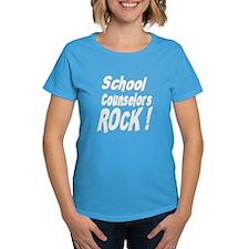 School Counselors Rock ! Tee
