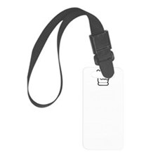 Keep Calm and Rock On (dark) Luggage Tag