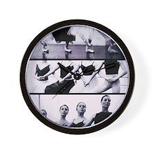 Four Cygnets Rehearsing Wall Clock