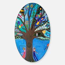 Tree of Life Sticker (Oval)