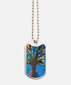 Tree of Life Dog Tags