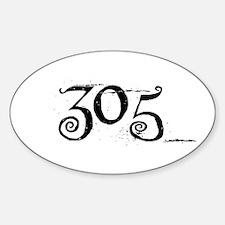 305 Beyond Wonderland Style Oval Decal