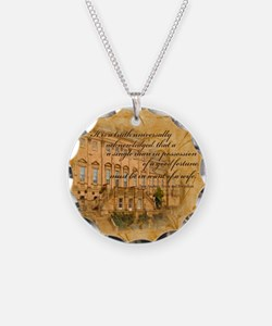 Jane Austen Quote Necklace
