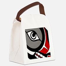 Kushtaka (Bigfoot) Canvas Lunch Bag