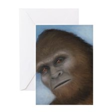 Bigfoot: The Unexpected Encounter Greeting Card