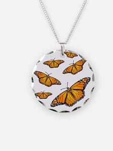 Monarch Butterflies Necklace