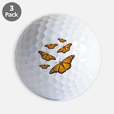 Monarch Butterflies Golf Ball