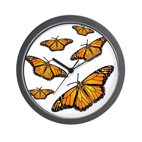 Butterfly Clocks Butterfly Wall Clocks Large Modern Kitchen