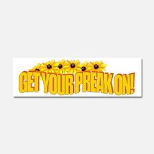 Get Your Preak On! Car Magnet 10 x 3