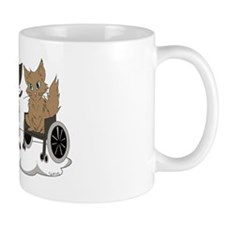 Silver Cloud Large Logo Mug