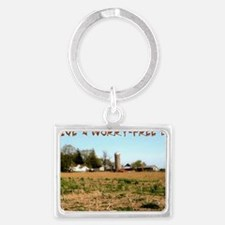 099-Calm-Worry-Free Landscape Keychain