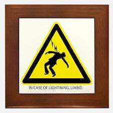 In Case of Lighting, Limbo Framed Tile
