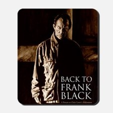 Back To Frank Black Book Cover Mousepad
