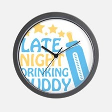 Drinking Buddy Wall Clock