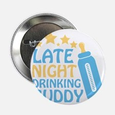 "Drinking Buddy 2.25"" Button"