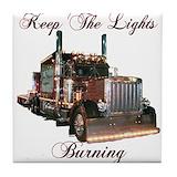 Trucks vintage Tile Coasters