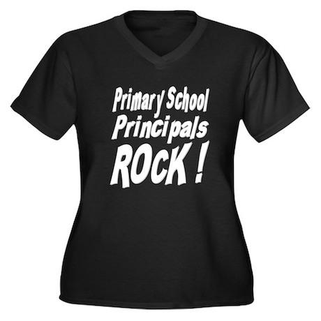 Primary School Principals Rock ! Women's Plus Size