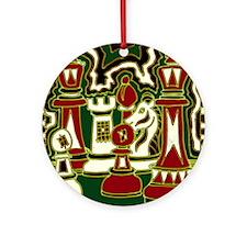 Champions Round Ornament