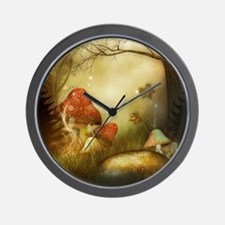 Fairy Woodlands 4 Wall Clock