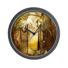 Fairy Woodlands 8 Wall Clock