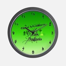 Ghost Adventures Wall Clock