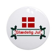 Denmark Glaedelig Jul Keepsake Ornament