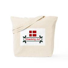 Denmark Glaedelig Jul Tote Bag