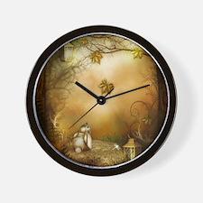 Fairy Woodlands 1 Wall Clock