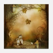 Fairy Woodlands 1 Tile Coaster