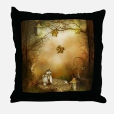 Fairy Woodlands 1 Throw Pillow