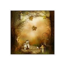 "Fairy Woodlands 1 Square Sticker 3"" x 3"""