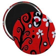Red Retro Magnet